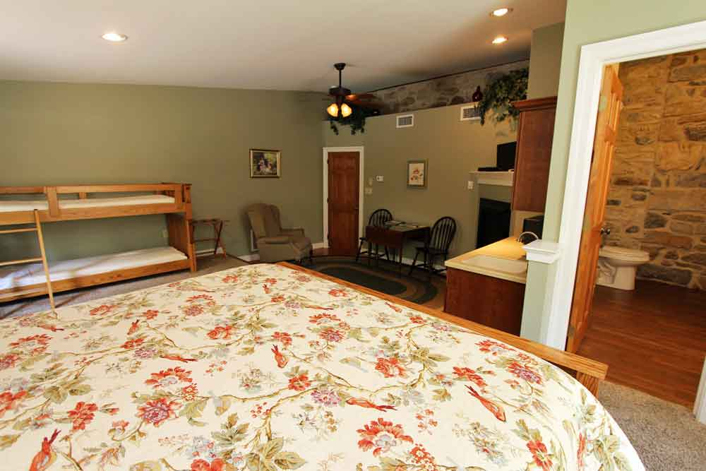 Founder's Suite at the Rocky Acres Farm Bed & Breakfast Lancaster PA