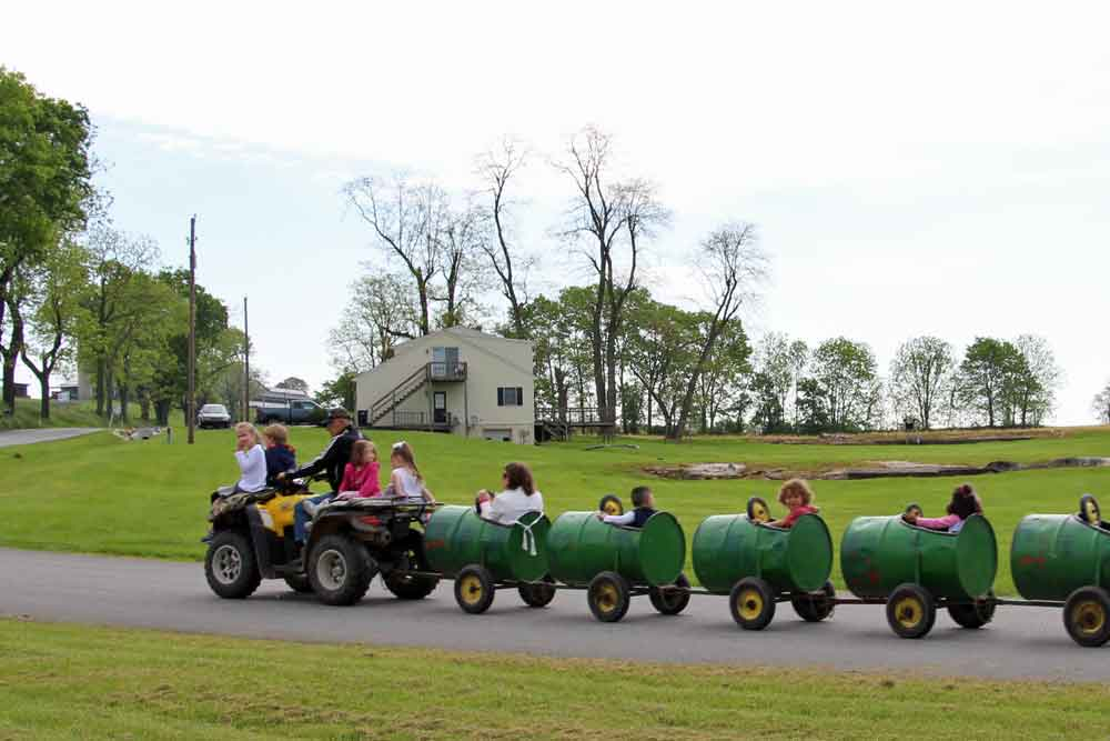 best family friendly farm stay in PA