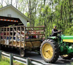 Hay Rides at Rocky Acres Farm Bed & Breakfast